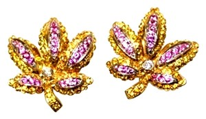 Mr & Mrs Italy Multi Color Sapphire Itallian Clip Earrings