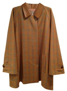 Barbara Bui Vintage Plaid Swing Coat