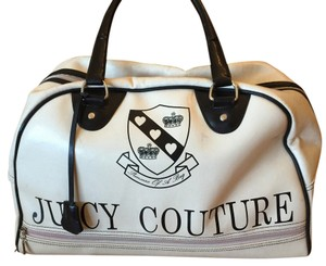 Juicy Couture Cream and Black Travel Bag