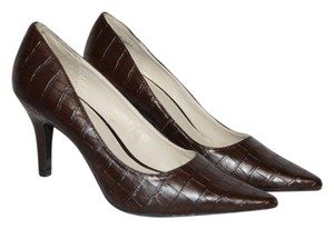 Cabrizi Dark Brown Pumps