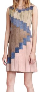 Tory Burch short dress Suede on Tradesy