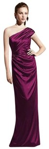 Dessy One Full Length Satin Dress