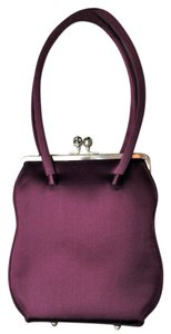 Anya Hindmarch Wristlet in Eggplant