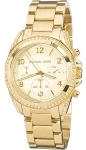 Michael Kors Michael Kors Female Dress Watch MK5166 Gold