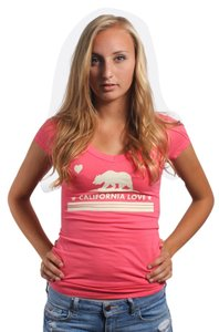 Three for Twelve T Shirt Coral