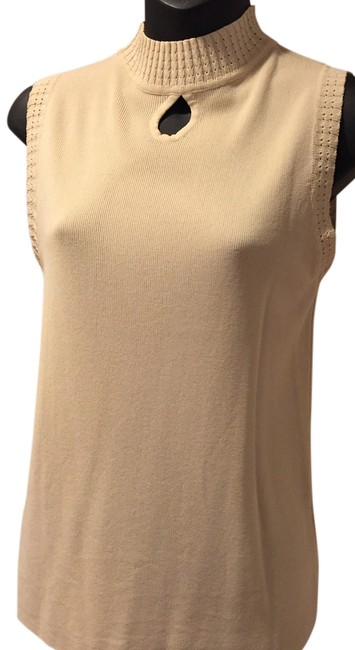 Other Cotton Polyester Top Cream Image 1