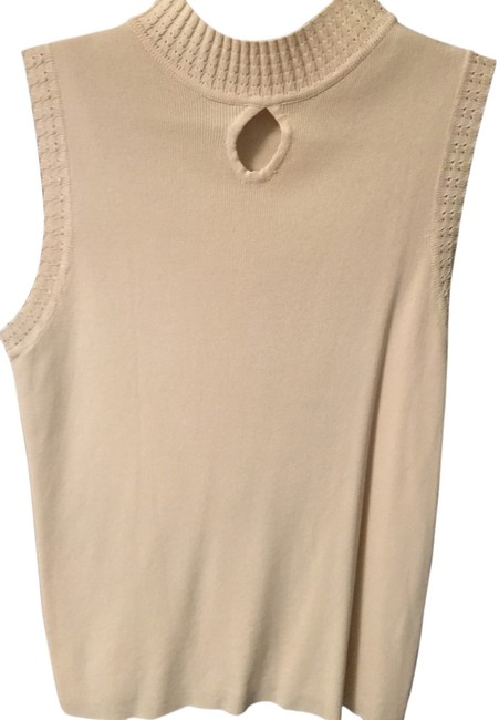 Other Cotton Polyester Top Cream Image 2