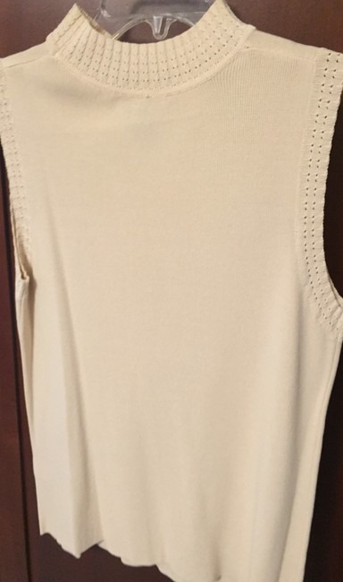 Other Cotton Polyester Top Cream Image 3