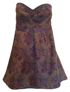 Free People Fit And Flare Bodice Floral Dress
