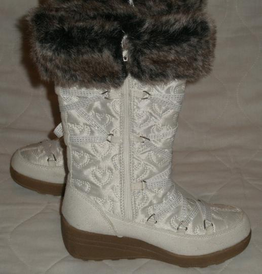 Candie's White Boots
