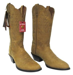 Ariat Heritage Cowboy Western Camel Boots