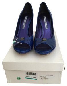 Norma baker Blue Pumps