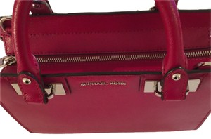 MICHAEL Michael Kors Satchel in Cherry