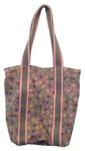 Old Navy Spring Canvas Kids Tote in Pink floral