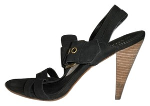 Boutique 9 Chunky Heel Leather Sandals
