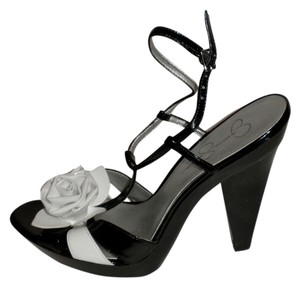 Jessica Simpson Rose Patent Patent Leather Strappy Sandals