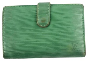 Louis Vuitton Green Epi Kisslock Wallet LV180 LVTL160