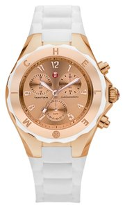 Michele NIB MICHELE Tahitian Jelly Bean large Chronograph watch MWW12F000030