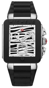 Michele NIB MICHELE Park Jelly Bean Chronograph watch MWW06L000018