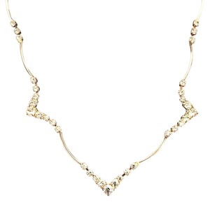Nordstrom Silver Necklace with CZs