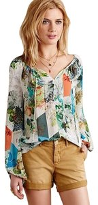 Anthropologie Top Leifsdotter Multicolor