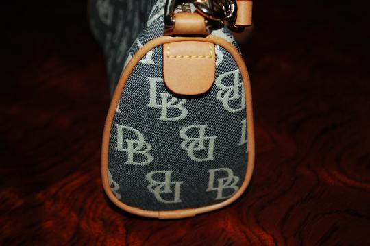 Dooney & Bourke Barrel Canvas Signature Baguette