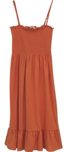 Ann Taylor LOFT short dress Orange- Tangerine on Tradesy