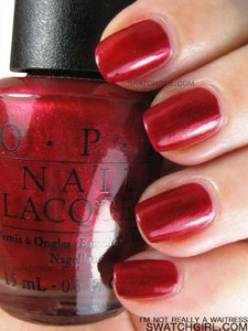 OPI I'M NOT REALLY A WAITRESS (INRAW) Nail Polish