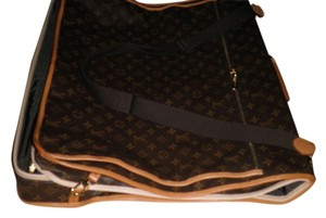 Louis Vuitton Leather Monogram Travel Bag
