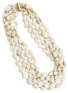 Independent Clothing Co. 5 Strand Riverstone Necklace
