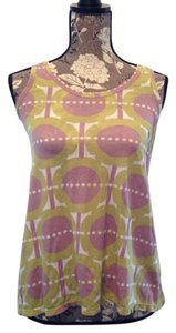 Orla Kiely Small Sleeveless Top Geo print