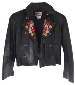 Kenzo Vintage Statement Piece Black Jacket
