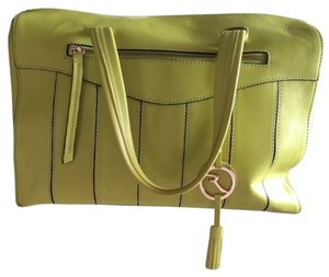Varriale Satchel in Lime Green