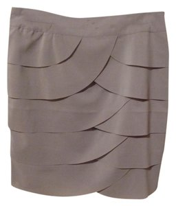 Forever 21 Skirt Tan/Gray