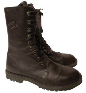 United Colors of Benetton Urban Leather brown Boots