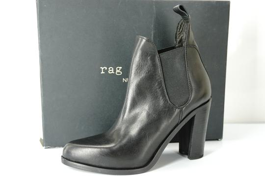 Rag & Bone Chelsea Ankle Strech And Black Boots