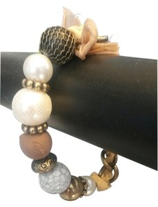Avenue AVENUE Fashion Jewelry Bead Stretch Bracelet