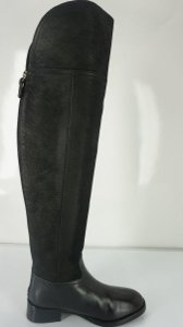 Tory Burch Tall Riding Logo Embossed Riding/Equestrian Otk New With Out Box Black Boots