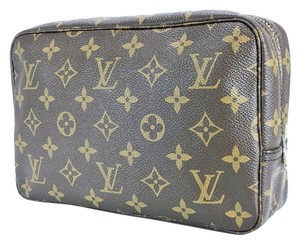 Louis Vuitton Louis Vuitton Monogram Trousse Toilette 23 Unisex Large Travel Toiletry Bag Luggage Cosmetic Pouch