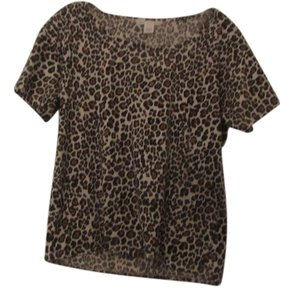 Victoria's Secret T Shirt animal print