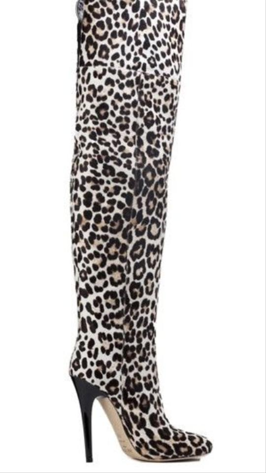 Titan Over-the-knee Leopard Print Boots 82% Off #13476190 | Boots ...