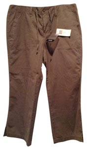 Calvin Klein Womens 12 Cropped All Tags Cotton Capris military