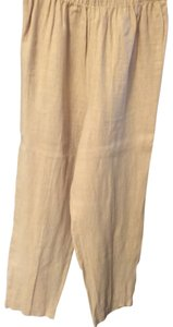 Hot Cotton Linen Relaxed Pants Mustard