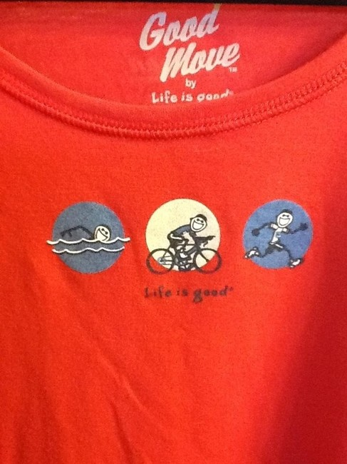 Life is Good Sz XL Two tank tops/One tee shirt