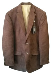 Chaps Mens Brown Blazer