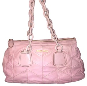Miu Miu Satchel in Pink Rose