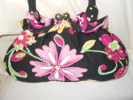 Other Satchel in black multi