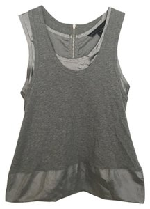 Marc by Marc Jacobs Top Silver / gray