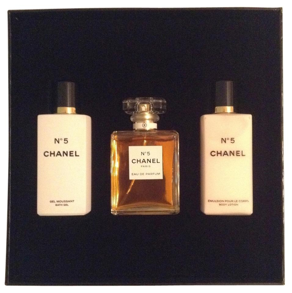 1dc8e2099 Chanel No 5 Signature 3 Item Gift Set Eau De Parfum 1.7oz/50ml Body ...