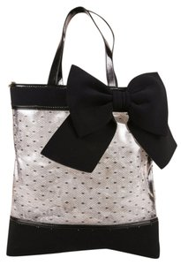 RED Valentino Tote in Clear PVC